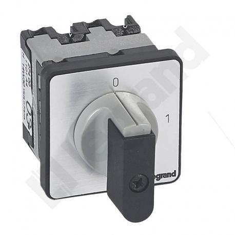 Przełącznik krzywkowy 0-1 PR12 16 A 1P