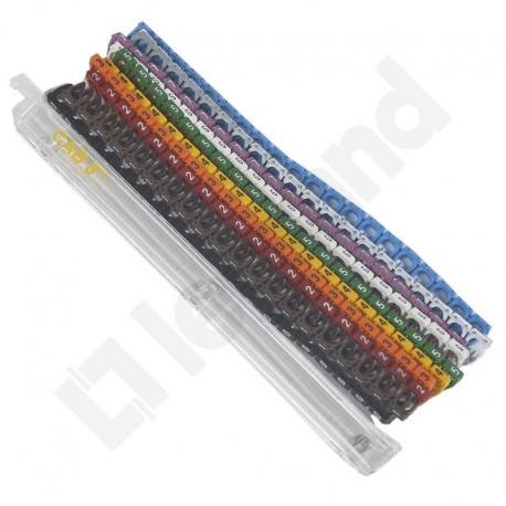 Zestaw oznaczników CAB3 4-6 mm2