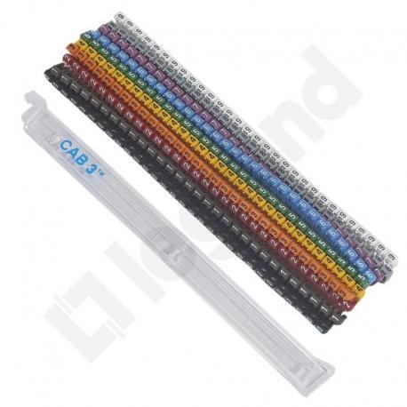 Zestaw oznaczników CAB3 1,5-2,5 mm2