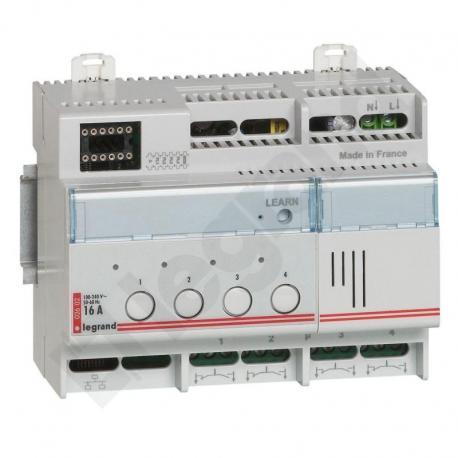 MYHOME BUS/SCS - Aktor/Łącznik oświetlenia Wyjście 4x16 A