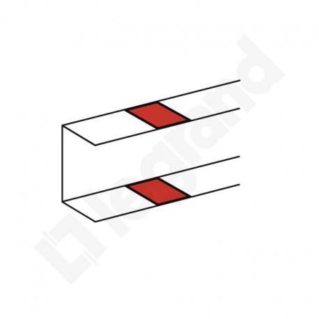 DLP Osłona połączenia podstawy kanału, łączenie zatrzaskowe