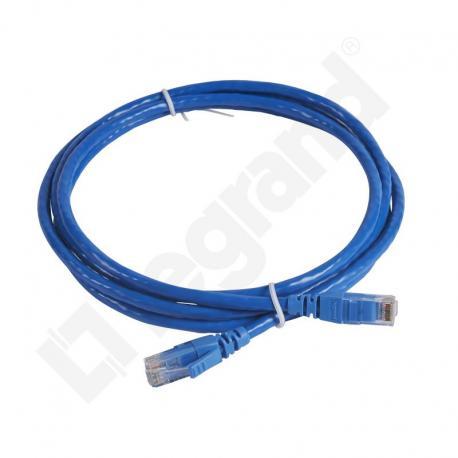 LCS Kabel krosowy KAT.6 UTP 2M PVC