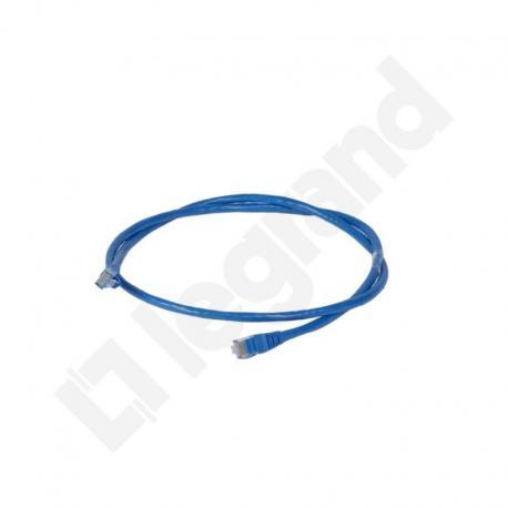 LCS Kabel krosowy KAT.6 UTP 1M PVC