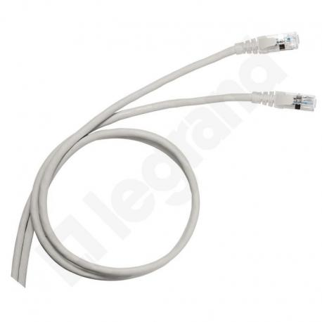 LCS Kabel krosowy KAT.5E UTP 2M PVC