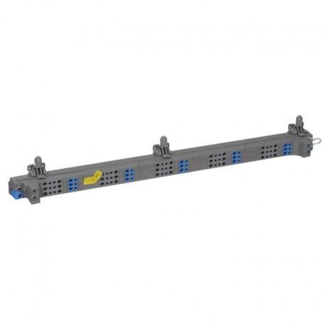 VX3 Blok rozdzielacza pionowego do rozdzielni 6 rzędowej 63 A, zaciski sprężynowe