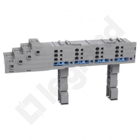 Hx3 Blok rozdzielacza rzędu 125 A zaciski sprężynowe, do 1/2 rzędu