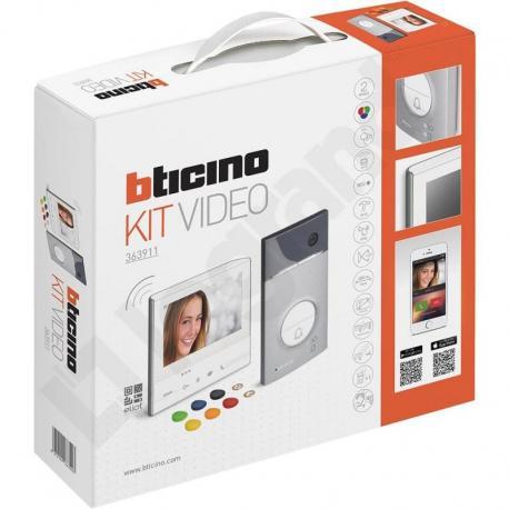 Zestaw 1-rodzinny z Wideodomofonem Classe 300 Smart Wi-Fi (jasny)
