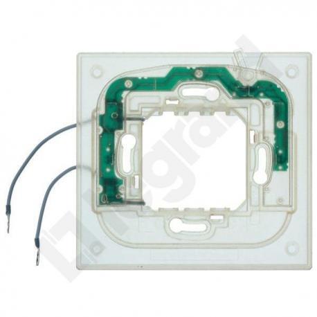 Axolute - Uchwyt podświetlany 2 moduły do ramek prostokątnych (HA)