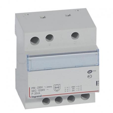 Modułowy transformator bezpieczeństwa TR325 12/24 25VA