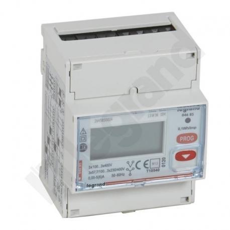 Licznik energii pomiar przez przekładnik CT, 3 fazowy 5 A z wyjściem impulsowym
