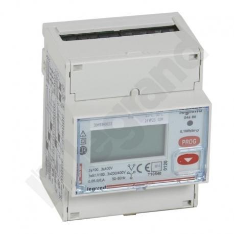 Licznik energii pomiar przez przekładnik CT, 3 fazowy 5 A z wyjściem RS485
