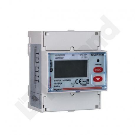 Licznik energii pomiar bezpośredni 3 fazowy 63 A z wyjściem impulsowym