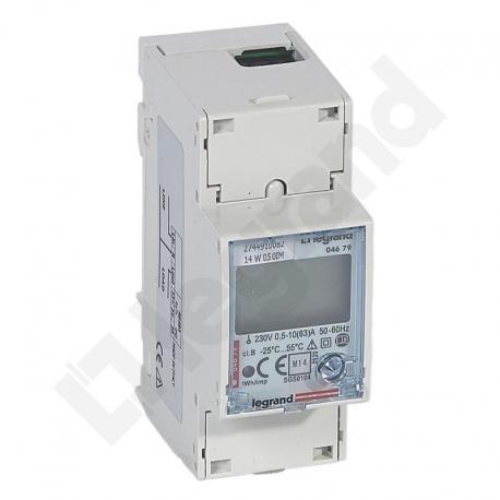 Licznik energii pomiar bezpośredni 1 fazowy 63 A z wyjściem RS485