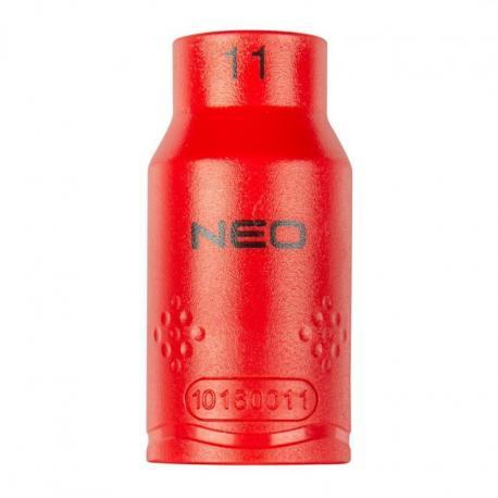 """NEO Nasadka sześciokątna 1/2"""" 11 mm 1000V"""