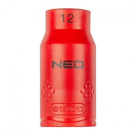 """NEO Nasadka sześciokątna 1/2"""" 12 mm 1000V"""