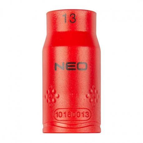 """NEO Nasadka sześciokątna 1/2"""" 13 mm 1000V"""
