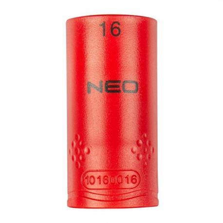 """NEO Nasadka sześciokątna 1/2"""" 16 mm 1000V"""