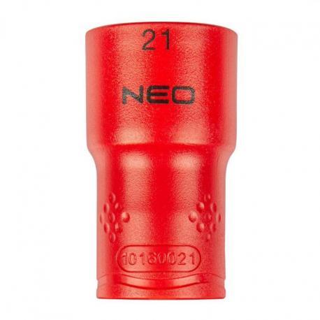 """NEO Nasadka sześciokątna 1/2"""" 21 mm 1000V"""