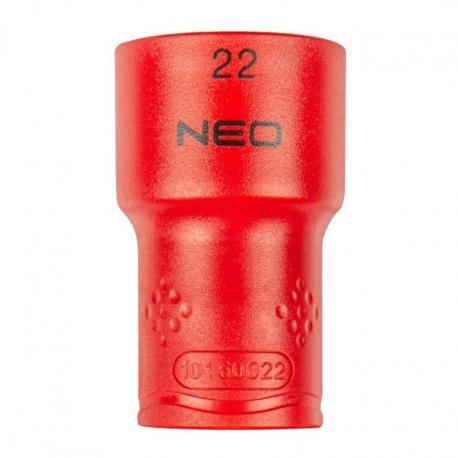 """NEO Nasadka sześciokątna 1/2"""" 22 mm 1000V"""