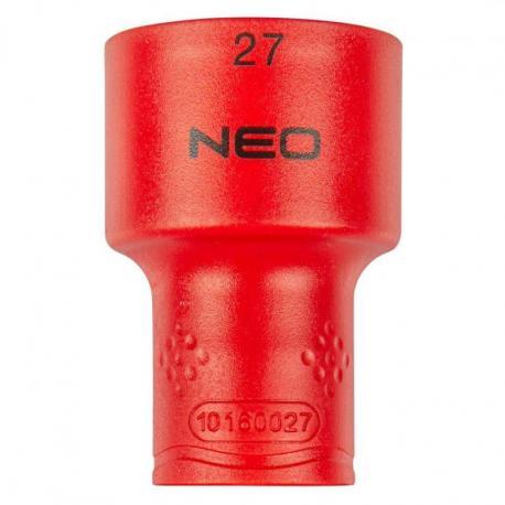 """NEO Nasadka sześciokątna 1/2"""" 27 mm 1000V"""
