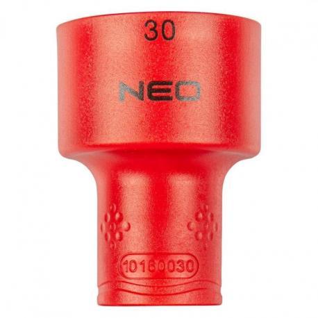"""NEO Nasadka sześciokątna 1/2"""" 30 mm 1000V"""