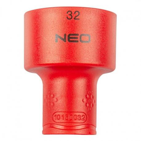 """NEO Nasadka sześciokątna 1/2"""" 32 mm 1000V"""
