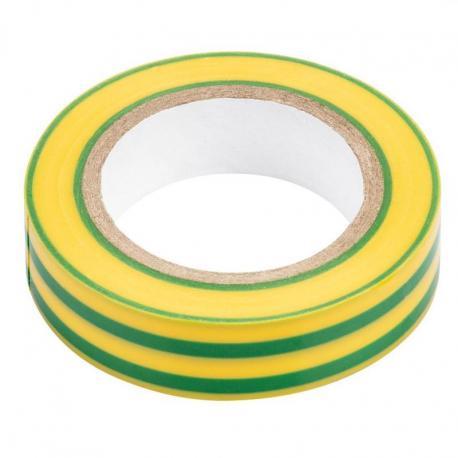 NEO Taśma izolacyjna żółto-zielona 15 mm x 0.13 mm x 10m