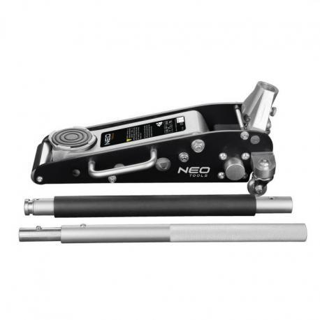 NEO Podnośnik hydrauliczny, aluminiowy, 1.25 t