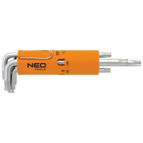 NEO Klucze Torx T10-T50, zestaw 8 szt.