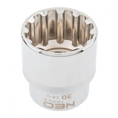 """NEO Nasadka Spline 1/2"""", 30 mm"""