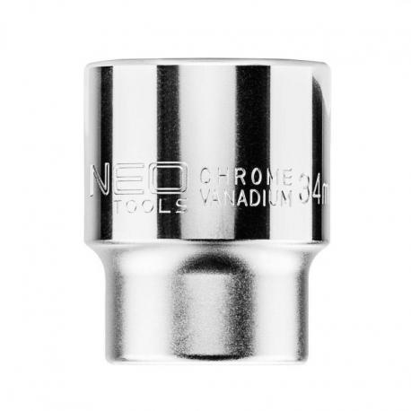 "NEO Nasadka sześciokątna 3/4"", 34 mm"