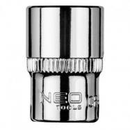 "NEO Nasadka sześciokątna 1/4"", 12 mm"