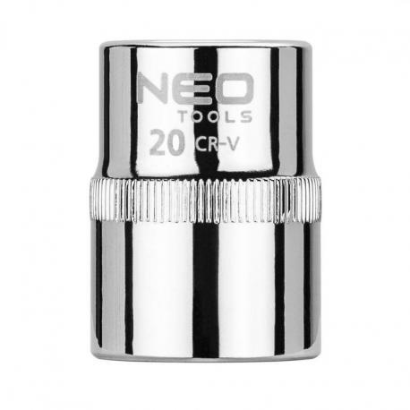 """NEO Nasadka sześciokątna 1/2"""", 20 mm, Superlock"""