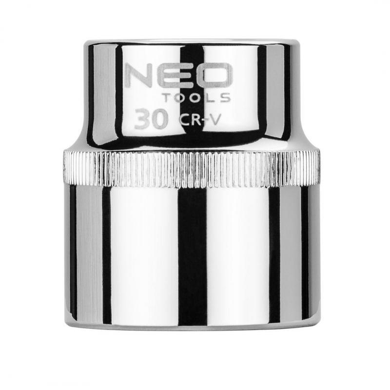 """NEO Nasadka sześciokątna 1/2"""", 30 mm, Superlock"""