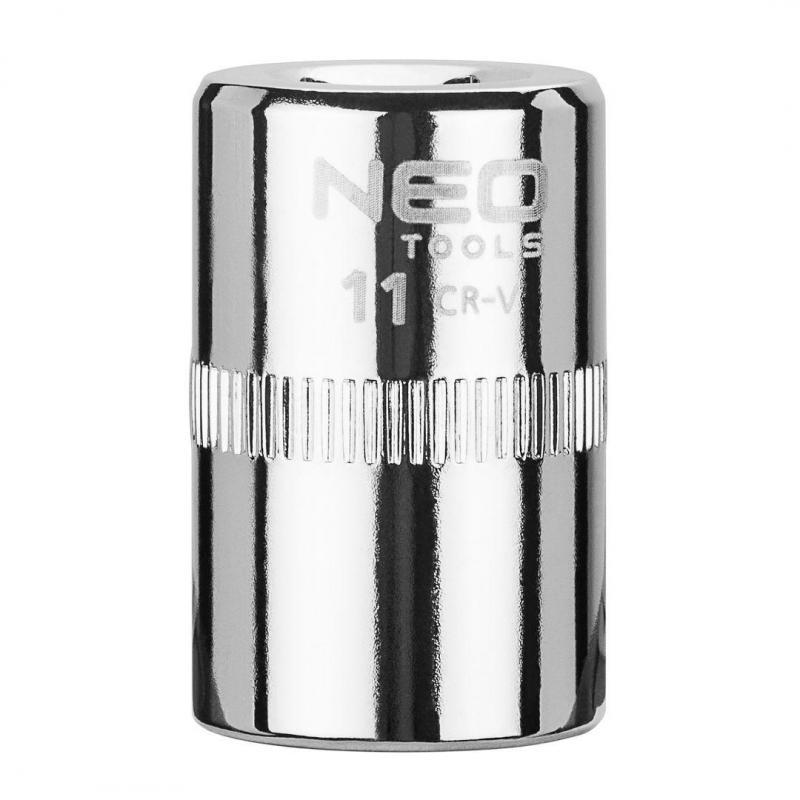 """NEO Nasadka sześciokątna 1/4"""", 11 mm, superlock"""