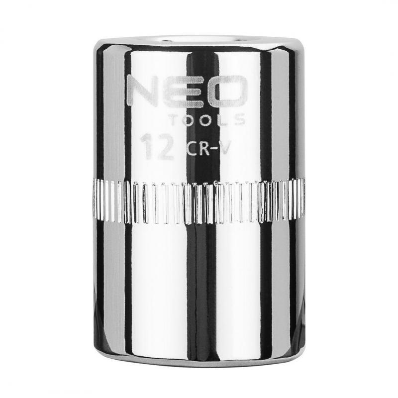 """NEO Nasadka sześciokątna 1/4"""", 12 mm, superlock"""