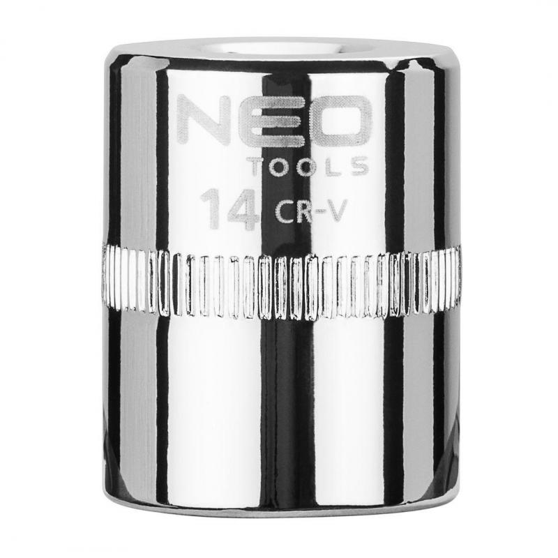 "NEO Nasadka sześciokątna 1/4"", 14 mm, superlock"
