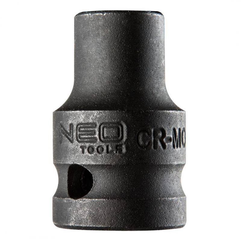 "NEO Nasadka udarowa 1/2"", 10 x 38mm, Cr-Mo"