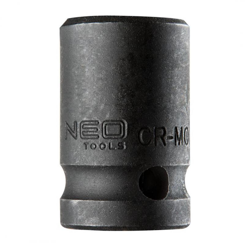 "NEO Nasadka udarowa 1/2"", 16 x 38mm, Cr-Mo"