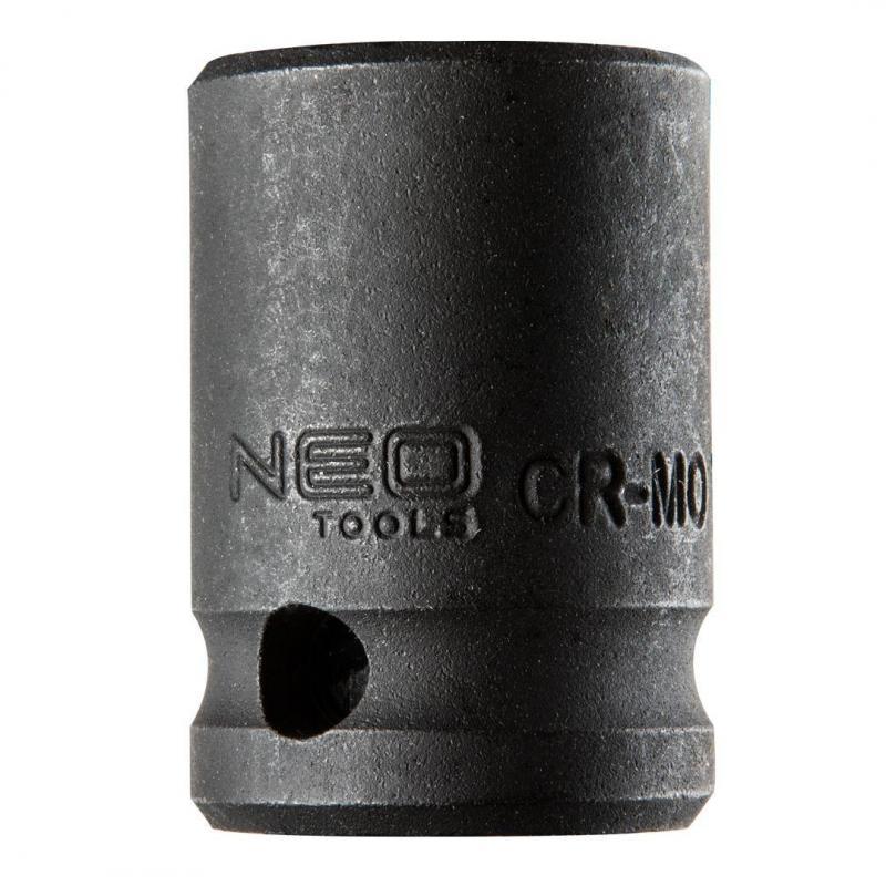 "NEO Nasadka udarowa 1/2"", 19 x 38mm, Cr-Mo"