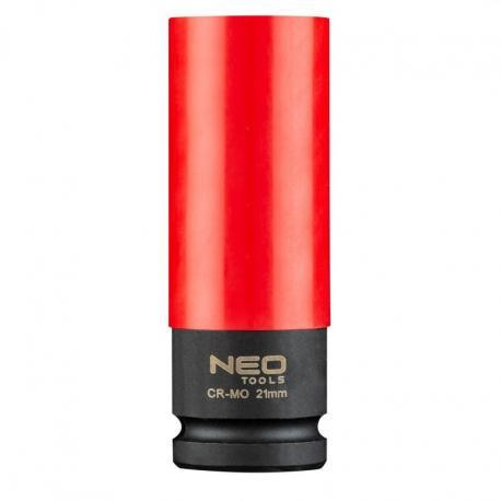 NEO Nasadki do felg aluminiowych - zestaw 3 szt. (17 mm, 19 mm, 21 mm), Cr-Mo