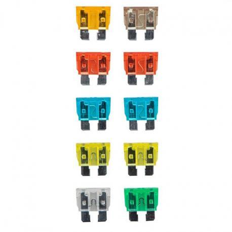 NEO Zestaw bezpieczników samochodowych, 10 sztuk