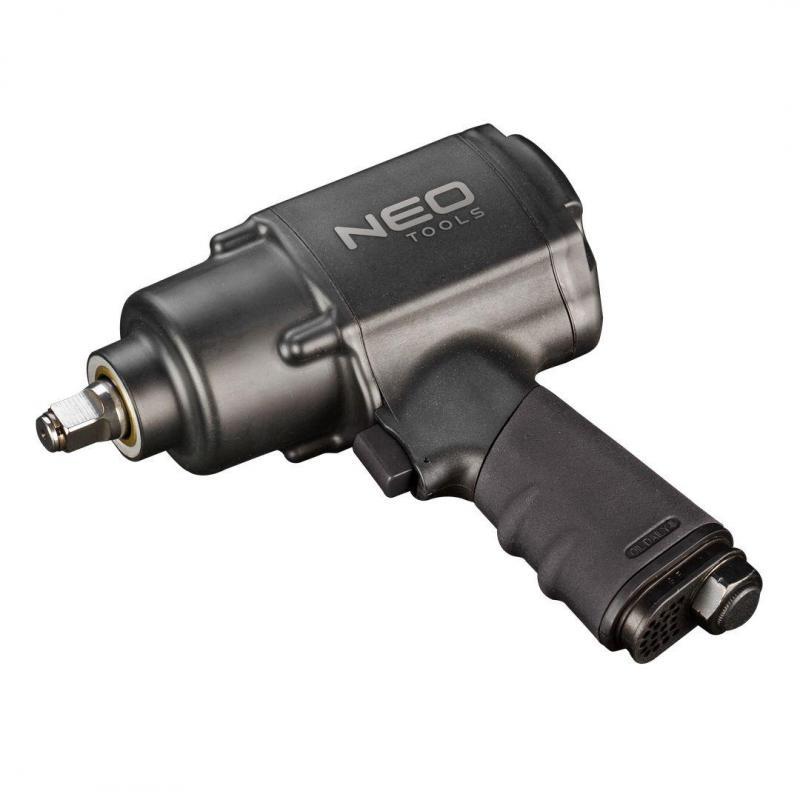 """NEO Klucz udarowy pneumatyczny, 1/2"""", 950-1020Nm, kompozytowy"""