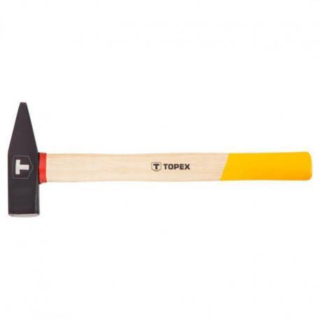 TOPEX Młotek ślusarski 800 g, trzonek drewniany