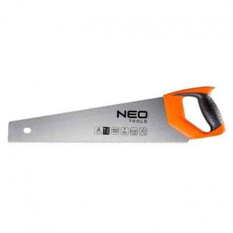 NEO Piła płatnica 450 mm, 7 TPI