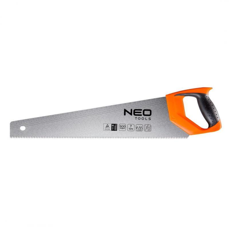 NEO Piła płatnica 500 mm, 7 TPI