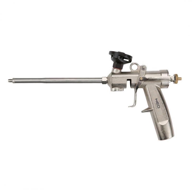NEO Pistolet do pianki montażowej z mosiężną głowicą