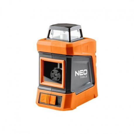 NEO Laser płaszczyznowy 15 m, 360° w poziomie, z etui i statywem 1.5 m