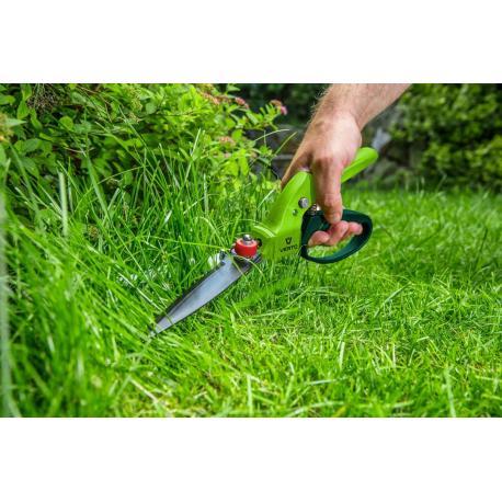 VERTO Nożyce do trawy 340 mm, ostrze 130 mm, wielopozycyjne