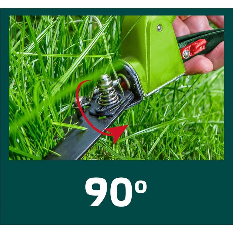 VERTO Nożyce do trawy 330 mm, ostrze 130 mm